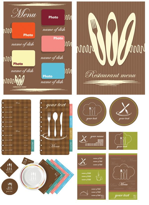 310 Best Restaurant Menu Design Images On Pinterest | Restaurant