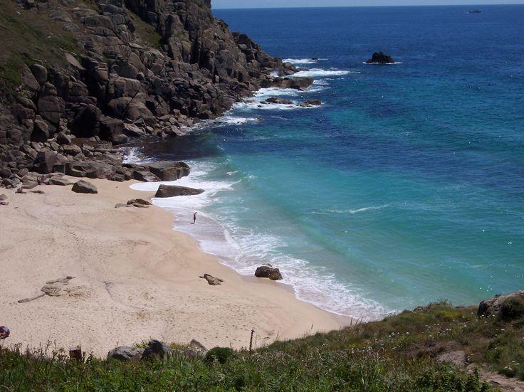Porth Chapel Beach, Cornwall