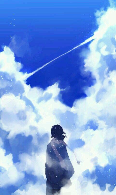 Nhìn bầu trời kia... Anh ở nơi nào?... Có đang ngắm trời xanh?