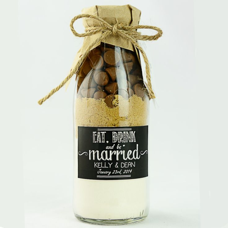 Unique cookie mix favours with custom labels available at www.sweethealth.com.au