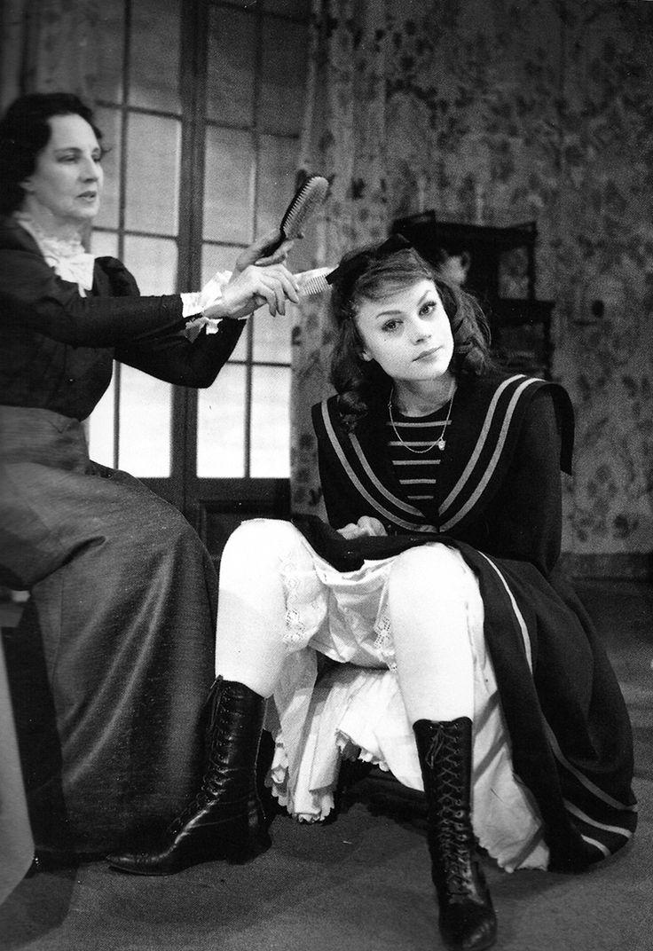 Françoise Dorléac with Gaby Morlay in Colette's Gigi, 1960