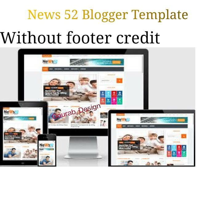Today We Are Shared Another Responsive Newspaper Magazine Blogger Template Its Full Premium Version Withou Blogger Templates Magazine Blogger Template Blogger
