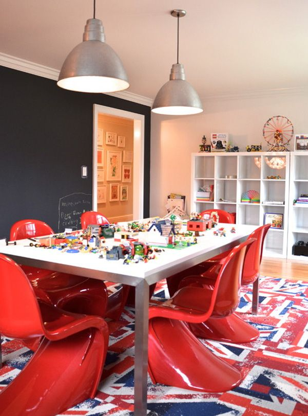 Playroom Dining Room For The Home Pinterest