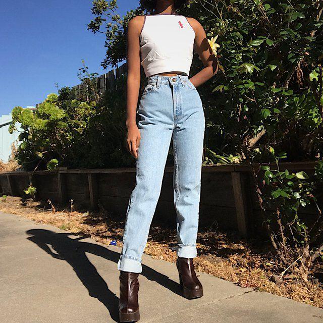 Vintage 90s Levi S 512s Vintage Jeans Levis Mom Jeans Vintage Mom Jeans Levi Mom Jeans Levi Jeans Outfit
