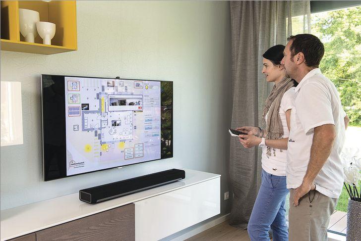 #weberlogic turns your TV into a dashboard. // Schaltzentrale statt TV, die intelligente Haussteuerung im Griff.