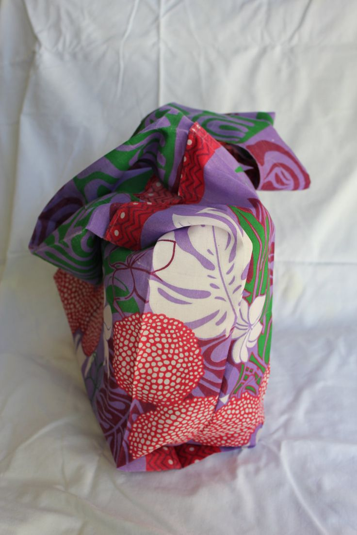 Tropical Bright Unique Robust Fabric Shopping Bags by ByCatDesign on Etsy