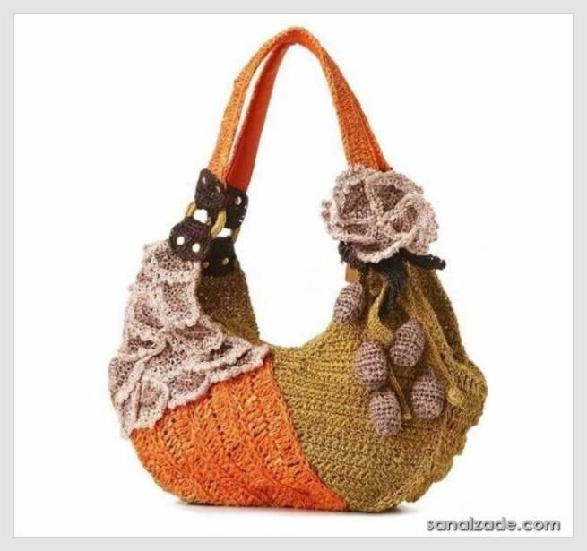 Crochet bag - örgü çanta modelleri