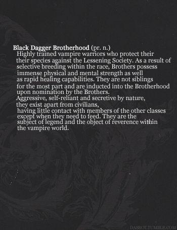 Black Dagger Brotherhood