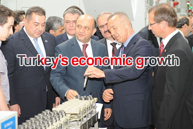 Turkey's economy grew at the rate of five percent in the first quarter of 2017 compared with the same period in 2016 the TurkStat reported Monday.