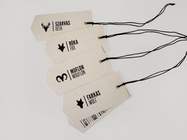 Hajdu Anett identity by kissmiklos   via Behance: Inspiration Tags, Kiss Miklo, Graphics Inspiration, Fashion Design, Hanging Tags, Graphics Design, Miklo Kiss, Hajdu Anett服装品牌形象设计4, Anett Hajdu