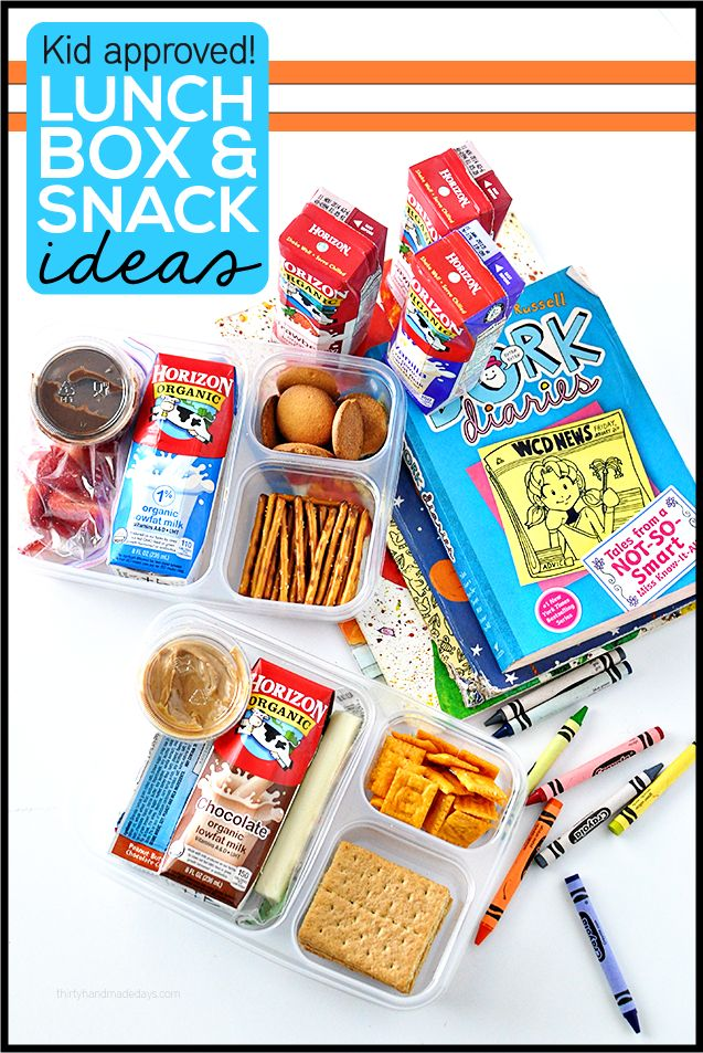 Kid approved lunch box and snack ideas - amazing ideas to make sure your kids have fabulous lunches every day!