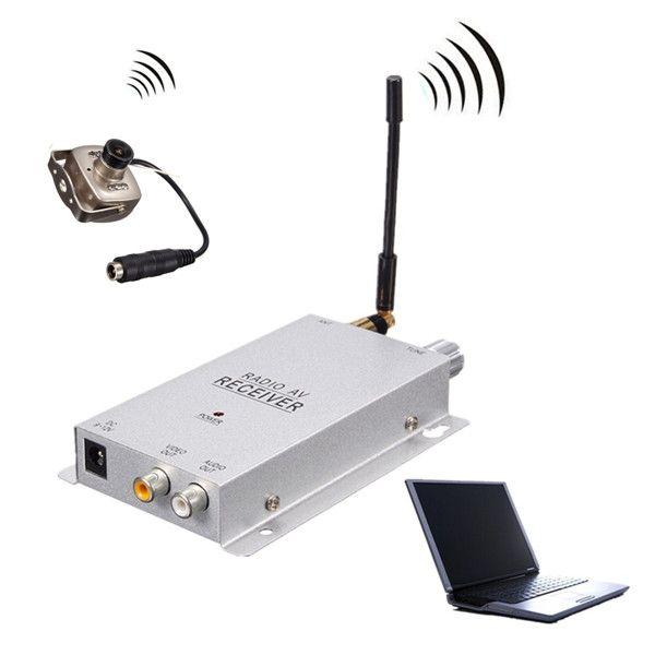 CMOS 700TVL 1.2g av inalámbrico de cámaras de seguridad cctv con receptor de audio y video