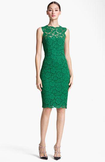 Valentino Lace Sheath Dress | Nordstrom