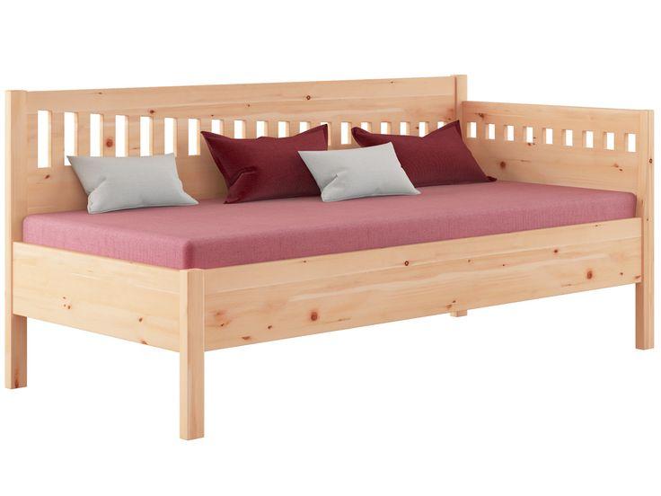 Zirbensofa stefanie 90 x 200 cm zirbenholz massiv for Schlafsofa 90 cm