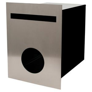 Scope Living Fence Bond Letterbox Stainless Steel