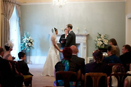 Wedding at Harrogate Registry Office, North Yorkshire