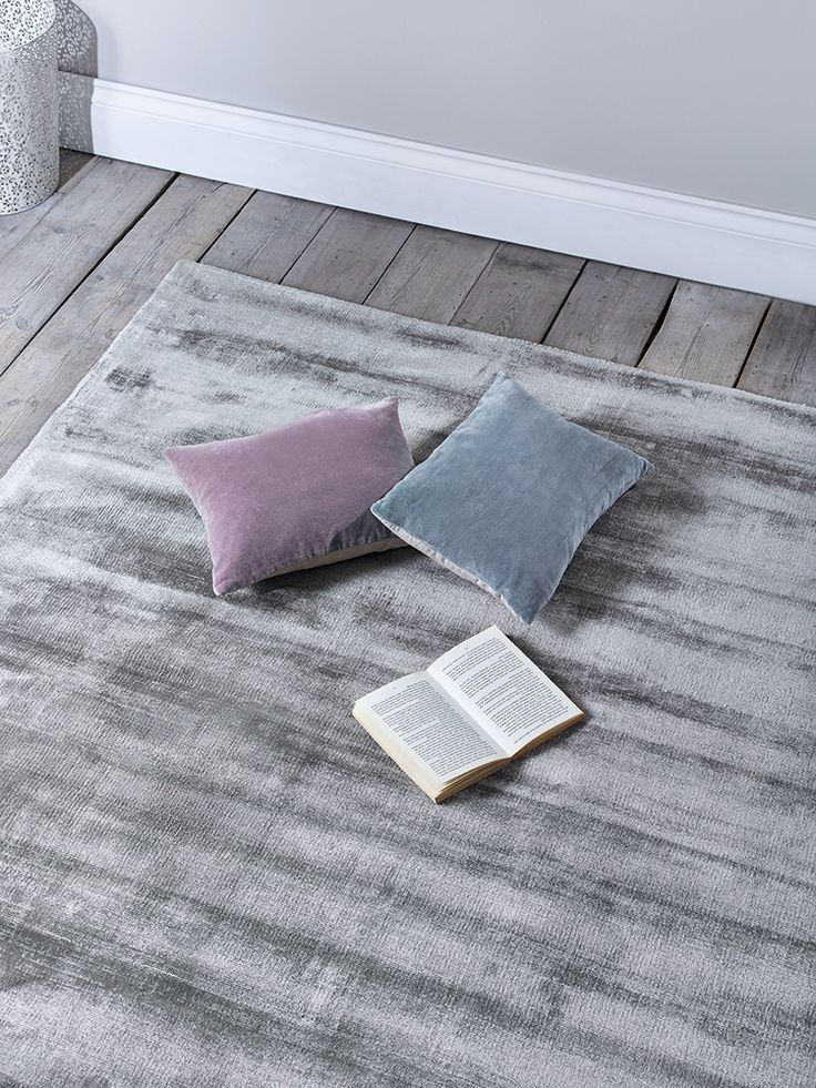 A sumptuous shade of smoke grey, each of our bestselling Luna rugs has a velvety sheen that changes colour in the light. With a supersoft finish, this short-pile rug adds a touch of luxury to tile or laminate flooring, and is hardwearing and easy to clean. Also avaliable in Blush, Putty and Silver.  This product is not available for Next Day Delivery in the UK and due to the size and weight of this item it is not currently available for international delivery. In exceptional circumstances…