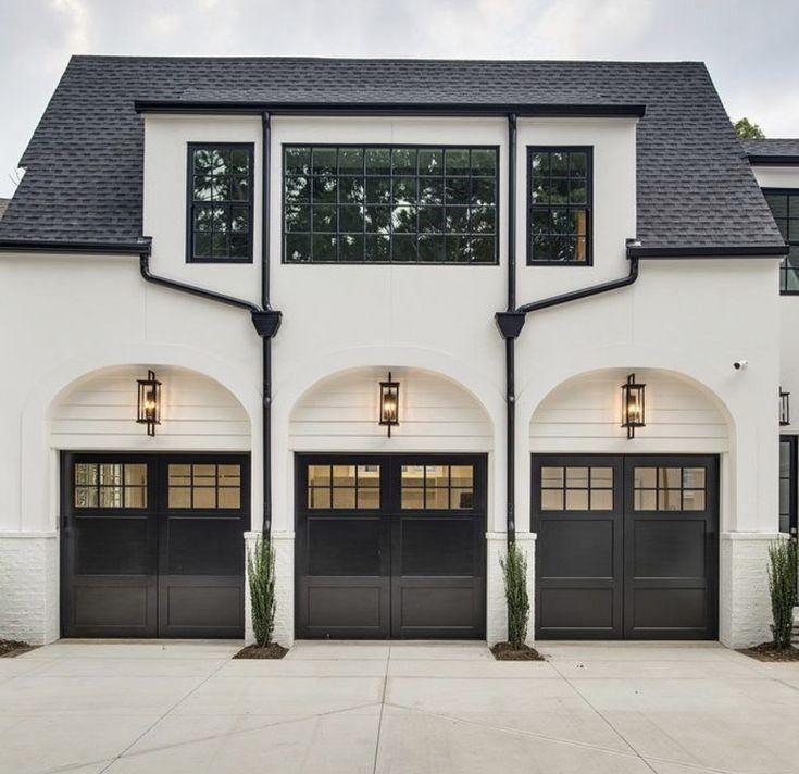 Merveilleux White Garage Door Ideas And Pics Of Garage Doors Portland ...