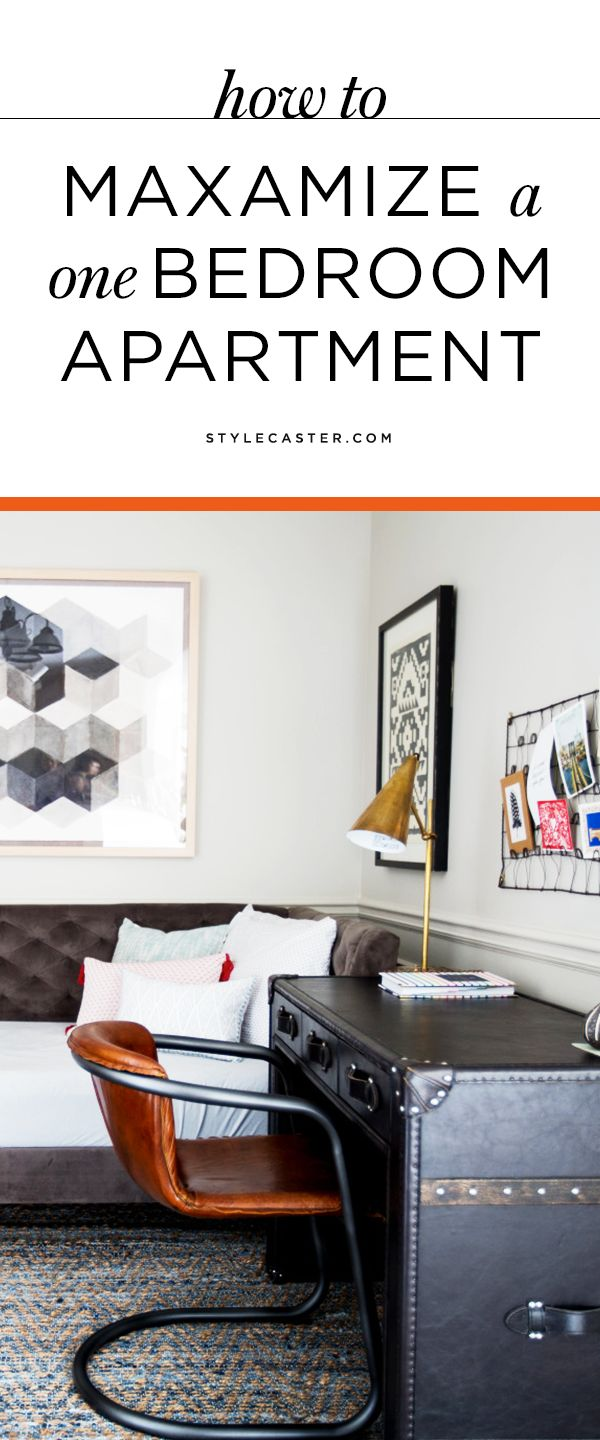 How To Decorate A One Bedroom Apartment Stunning Decorating Design