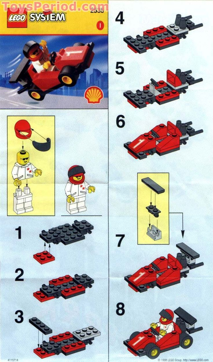 how to build lego cars instructions Google Search Will