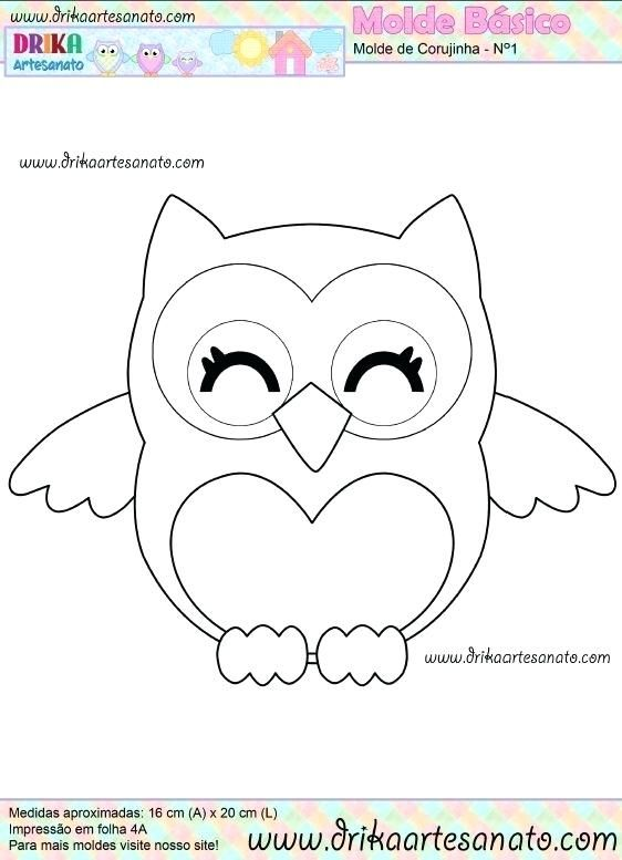 graphic about Printable Owl Pattern named No cost Felt Animal Templates Layouts Pdf Printable Owl child