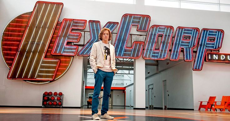 'Batman v Superman' Photos Show Off Lex Corp Industries -- Lex Luthor is seen standing on his private basketball court inside Lex Corp, along with new 'Dawn of Justice' photos featuring Batman and Superman. -- http://movieweb.com/batman-v-superman-photos-lex-corp-industries/