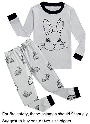 Choco Moon Little Boys Girls Snug-Fit Pajamas 100 Cotton Pjs Sleepwears cf3a5330d