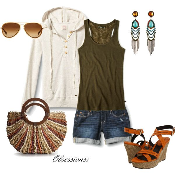 .: Dreams Closet, Casual Summer, Cute Casual, Cute Outfits, Summer Nights, Awesome Outfits, Summer Night Outfits, Outfits With Long Shorts, Bags
