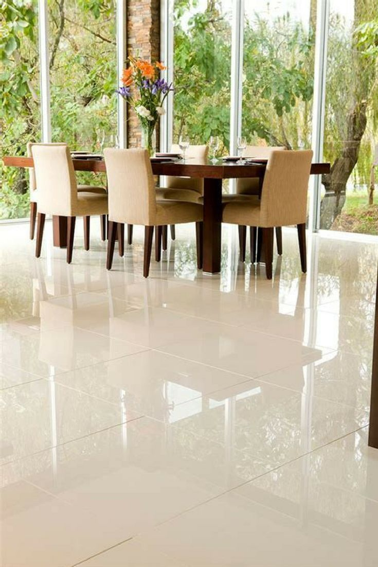 Ceramic And Porcelain Tile Some Important Differences Living Room Tiles White Tile Floor Tile Floor Living Room