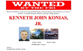 """[brightcove video=""""1496091810001"""" /]    The FBI is asking for Facebook and Twitter users to help find a 22-year-old man who is wanted for stealing $2.3 million out of his employer's armored car and fatally shooting a Garda Cash Logistics employee.     The face of Kenneth John Konias has been disp..."""