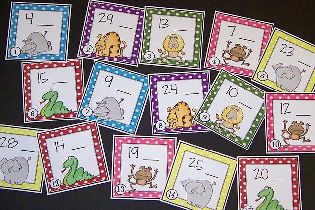 counting on: Grade Rocks, Kindergarten Math, Math Centers, Bugs Teaching, Math Ideas, Number, Animal Cards, 1St Grade