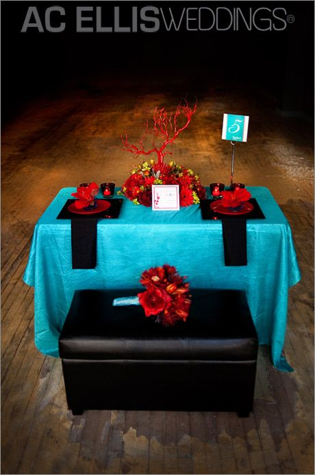 red and teal wedding  | Sioux Falls Wedding Photography AC Ellis » South Dakota Wedding and ...