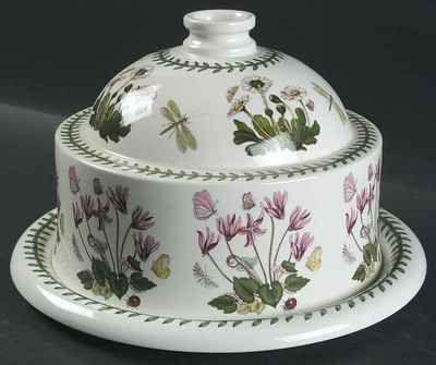 Portmeirion Botanic Garden Xmas Rose Cheese Dome Plate | eBay