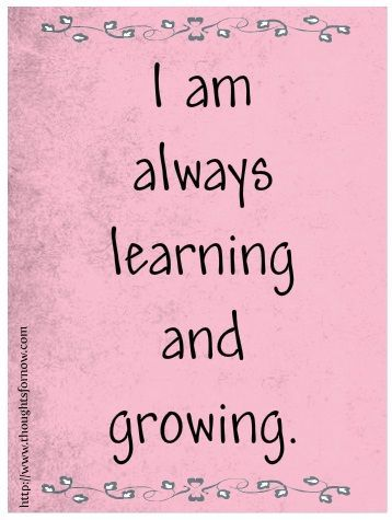 I used to see learning as a drag! Now I see it as the fountain of life! http://innerspiritrhythm.com/