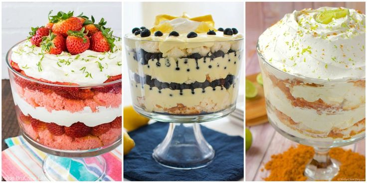 12 Easy Summer Trifle Recipes That Will Be the Star of Your Next Barbecue
