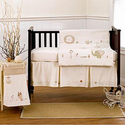 Nature's Purest™ Sleepy Safari Crib Bedding & Accessories - BedBathandBeyond.com