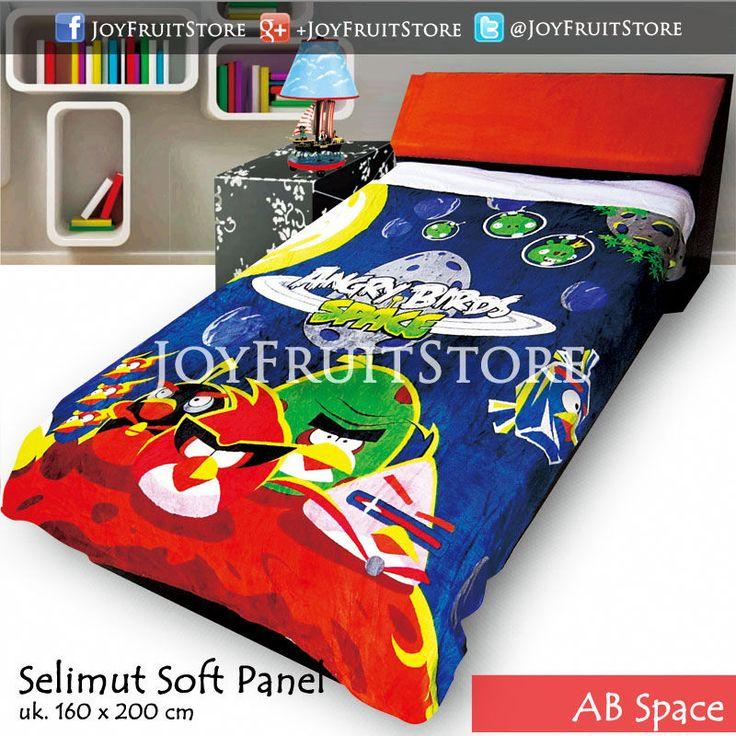 selimut bulu lembut halus (soft panel) angry bird space joyfruitstore.com pin bbm 74258162, wechat joyfruitbedcover, whatsapp 081931151596