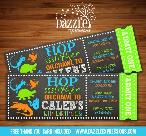 314 Best Images About Animal Party Invitations On