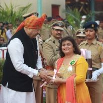 Ahilyabai Holkar Award to Dr. Sunita Tandulwad