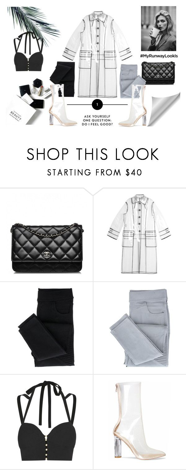 """Futuristic HighF"" by iris234 on Polyvore featuring H&M, Anja, Chanel, Miu Miu and Jonathan Simkhai"