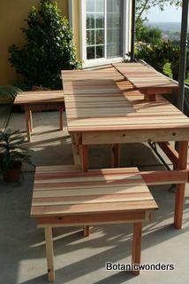 Bonsai Display Table