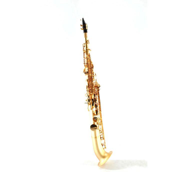 Semi Curved Soprano Sax