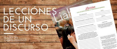 Las clases que se enseñan el cuarto domingo de cada mes se seleccionan de los discursos de la conferencia general más reciente que aparecen en la revista Ensign o Liahona.