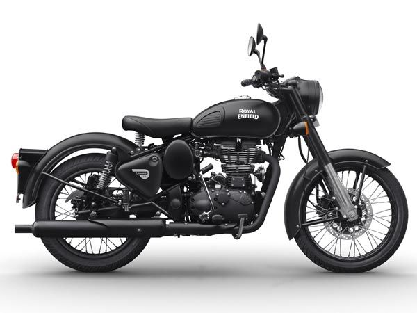 Royal Enfield Classic 350 Gunmetal Gray And Classic 500 Stealth Black Launched In India