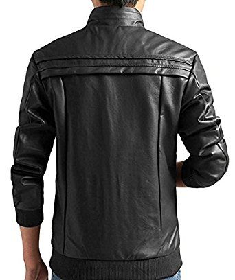 Men's Casual Leisure Leather Jackets For sale | Leather jackets for men | Black leather jacket for sale (XXL) at Amazon Men's Clothing store: