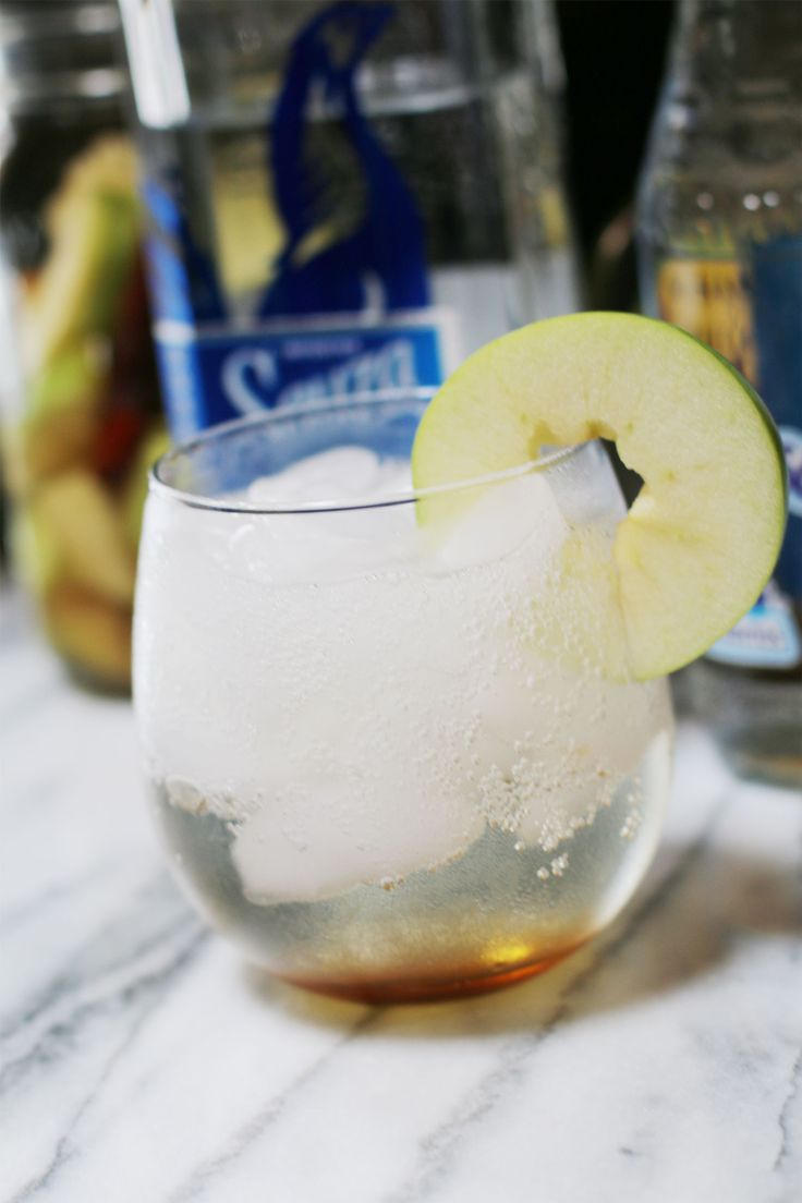 Fall Tequila Cocktails green apple