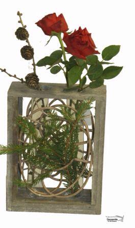Dejlige roser til julebordet