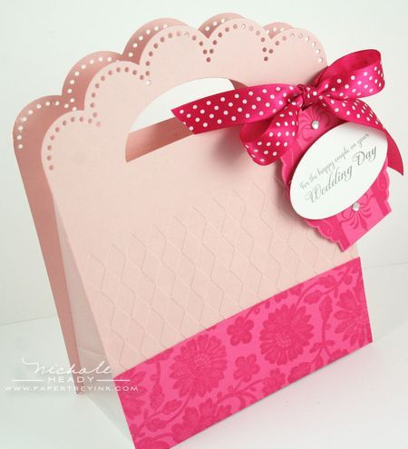 Wedding Gift Bag By Nichole Heady For Papertrey Ink January 2012