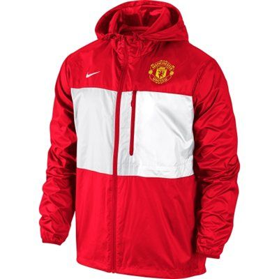 Manchester United FC Nike Winger Authentic Full Zip Jacket - Red