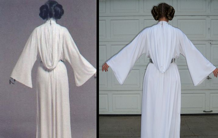 Alyssa wanted to be Princess Leia last year, so I promised I would make her a costume this summer. We'll see how this goes!